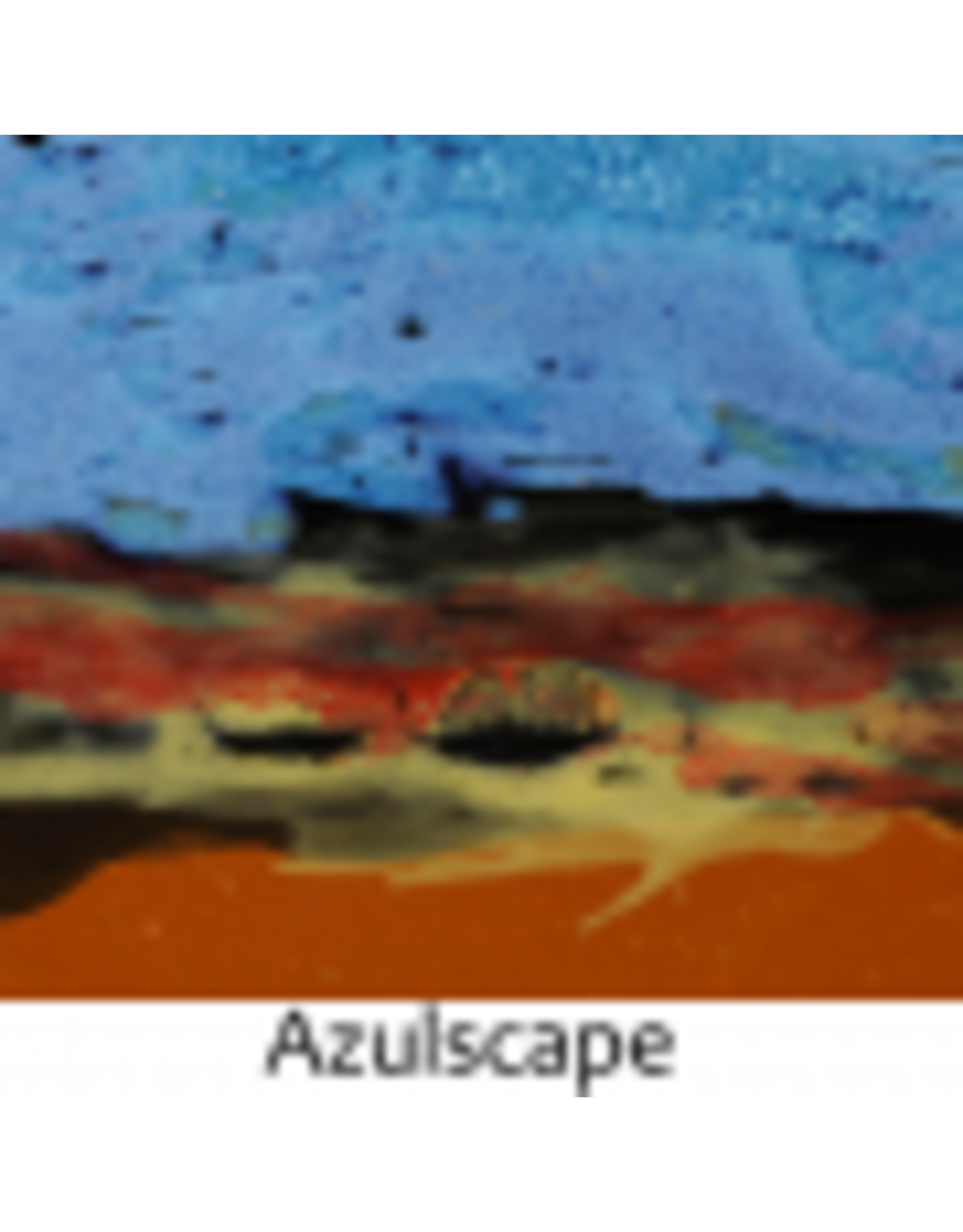 Always Azul PALM TREE w/ BIRDS MUG (Lg, 14oz, AAZUL)