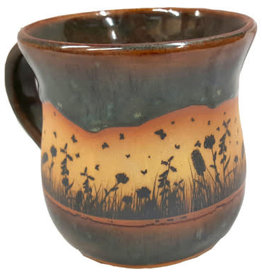 Always Azul BUTTERFLYSCAPE MUG (Panoramic Image, Lg, 14oz)
