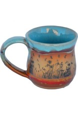 Always Azul DRAGONFLYSCAPE MUG (Panoramic Image, Lg, 14oz)