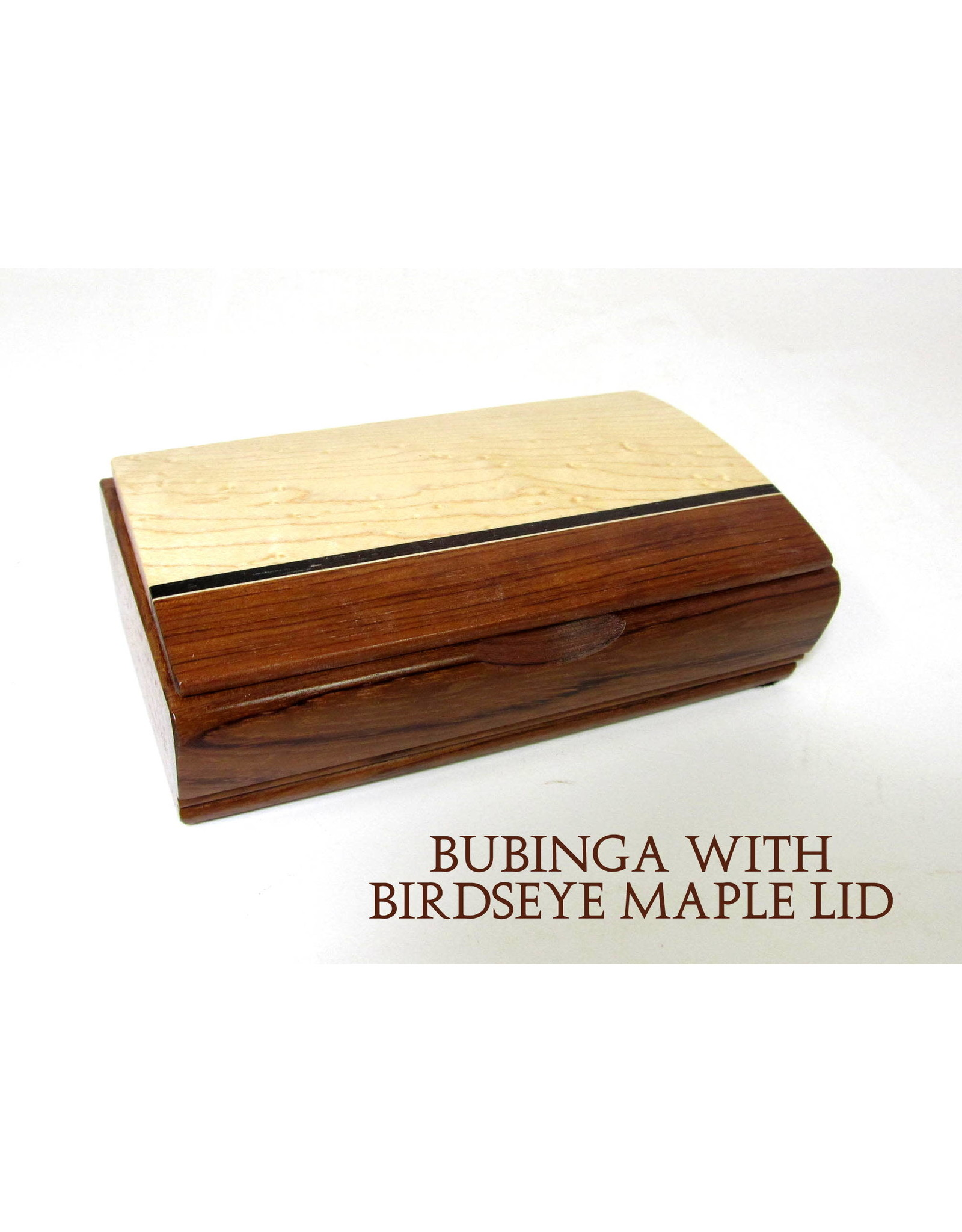 Mikutowski Woodworking TREASURE WOOD BOX (Asst. Stripes, Engraved Quote) MIKM