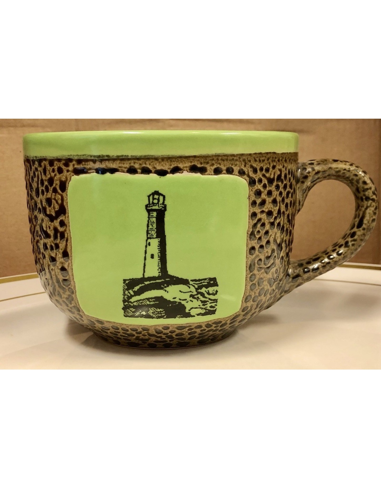 Always Azul LIGHTHOUSE MUG (Latte, 14OZ)