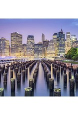 Zen Art & Design NYC Skyline (Teaser, 48 Pieces, Artisanal Wooden Jigsaw Puzzle)