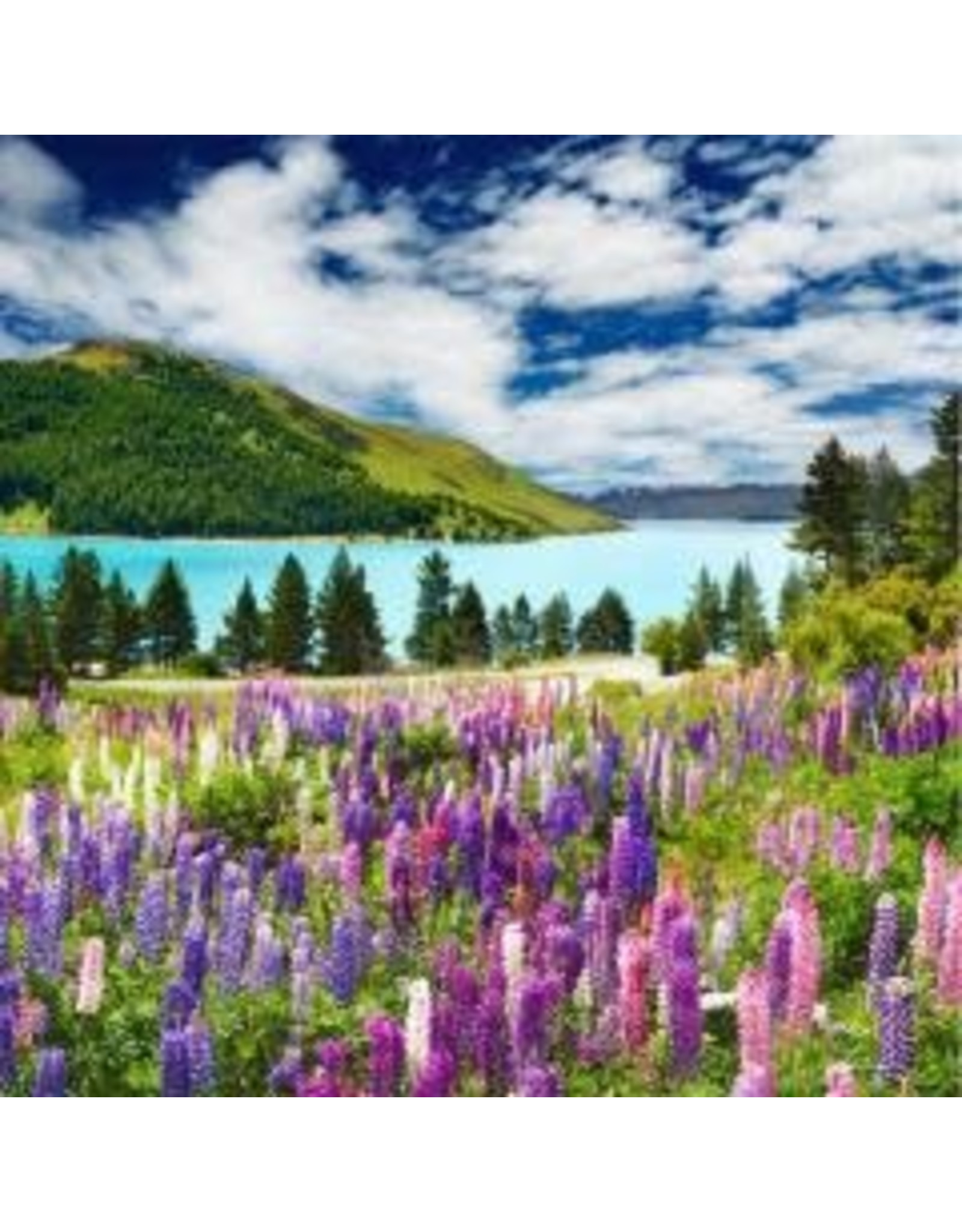 Zen Art & Design Mountain Lake (Md, 204 Pieces, Artisanal Wooden Jigsaw Puzzle)