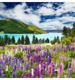 Zen Art & Design Mountain Lake (Md, 204 Pieces, ZEN Wooden Jigsaw Puzzle)