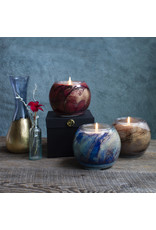 "Northern Light Candles AMBER SANDALWOOD (Esque Nouveau, 4"") NORTH"