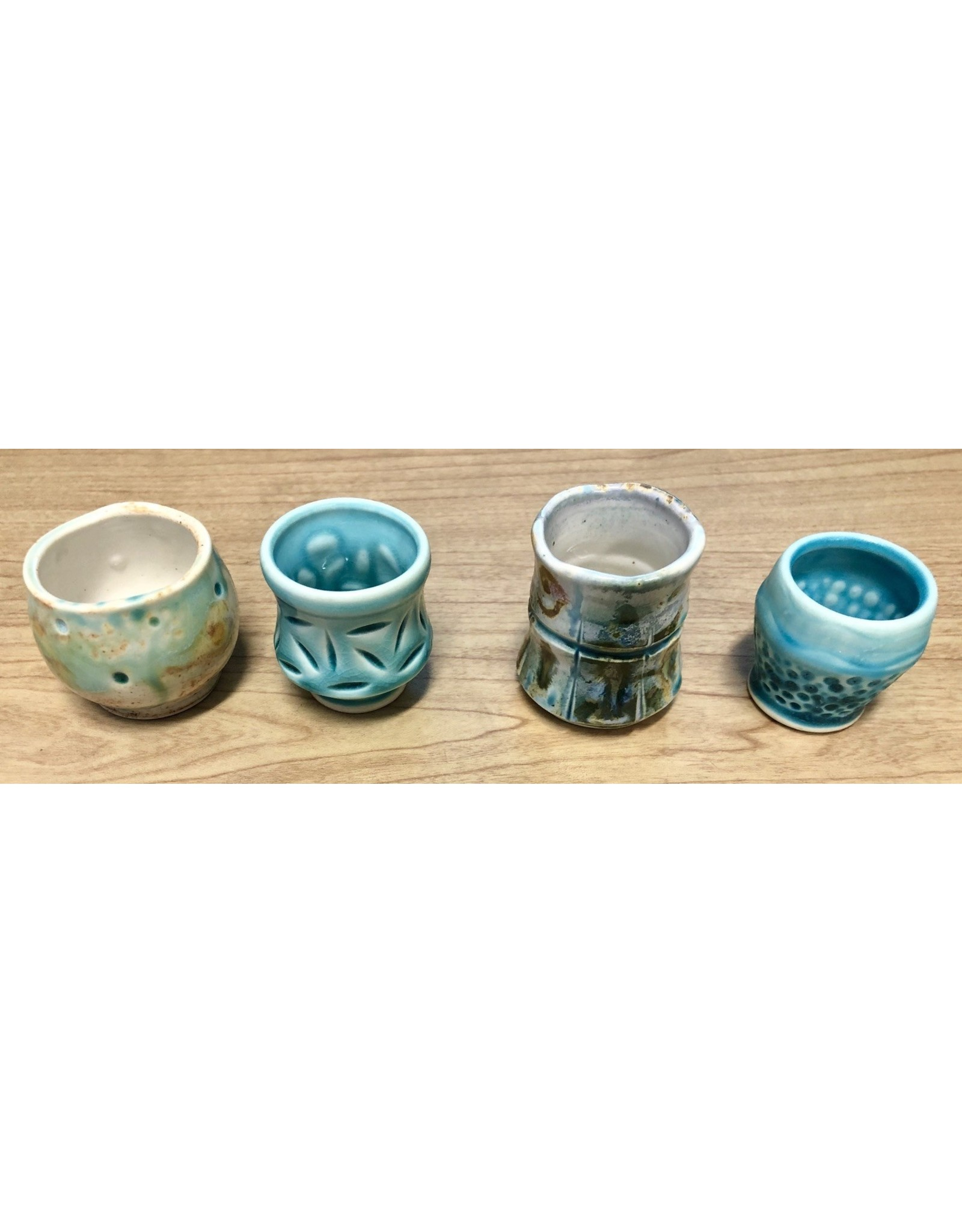 Gail Snively SHOT GLASS (Ceramic, #20001)