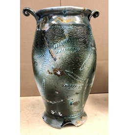 Gail Snively VASE (Carved Dragonfly, Lg, #440)