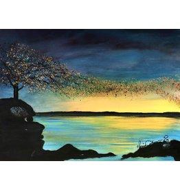 "Marcia Durham MIND BLOW (Original Acrylic, 18x24"")"