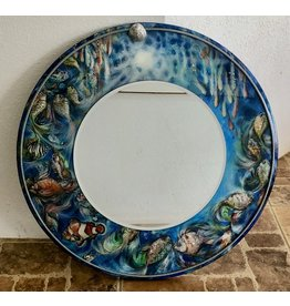 "Romani Schrems UNDER THE SEA II MIRROR (24""D., ROMS)"
