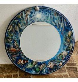 "Romani Schrems UNDER THE SEA II MIRROR (24""D.)"