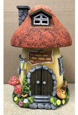 Ingrid Hooper Mushroom House w/Red Roof (Clay Touch MH2RWD)