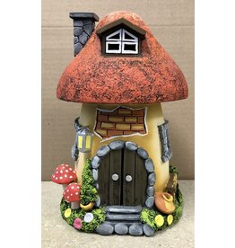 Ingrid Hooper Mushroom House w/Red Roof (Clay Touch MH2RWD, INGH)