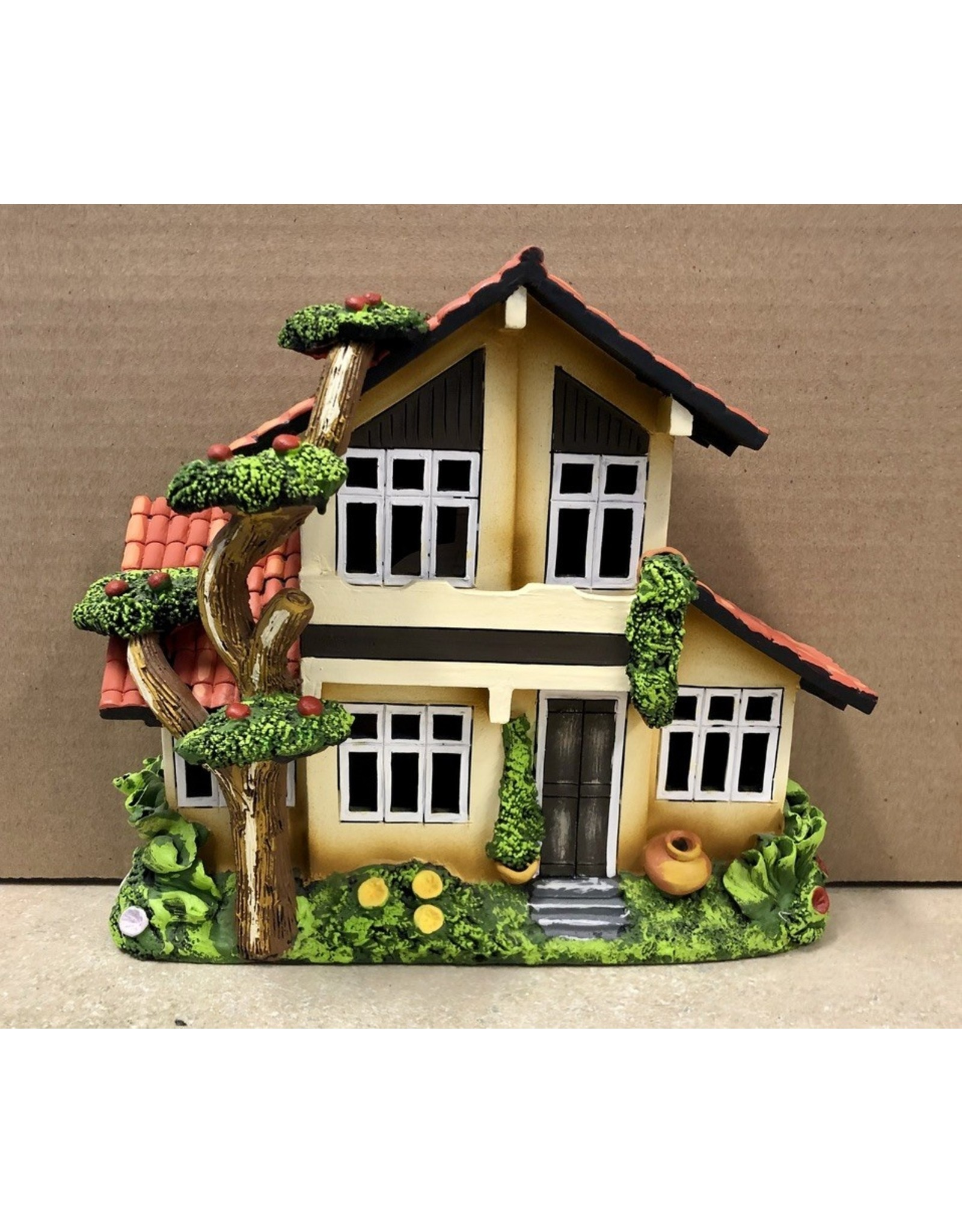 Ingrid Hooper Chalet House w/Apple Tree (Clay Touch H11A, INGH)