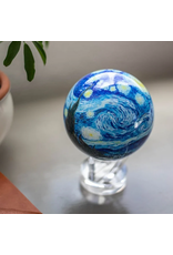 "Mova Globes STARRY NIGHT by VAN GOGH (MOVA Globe 4.5"" w/Acrylic Base)"
