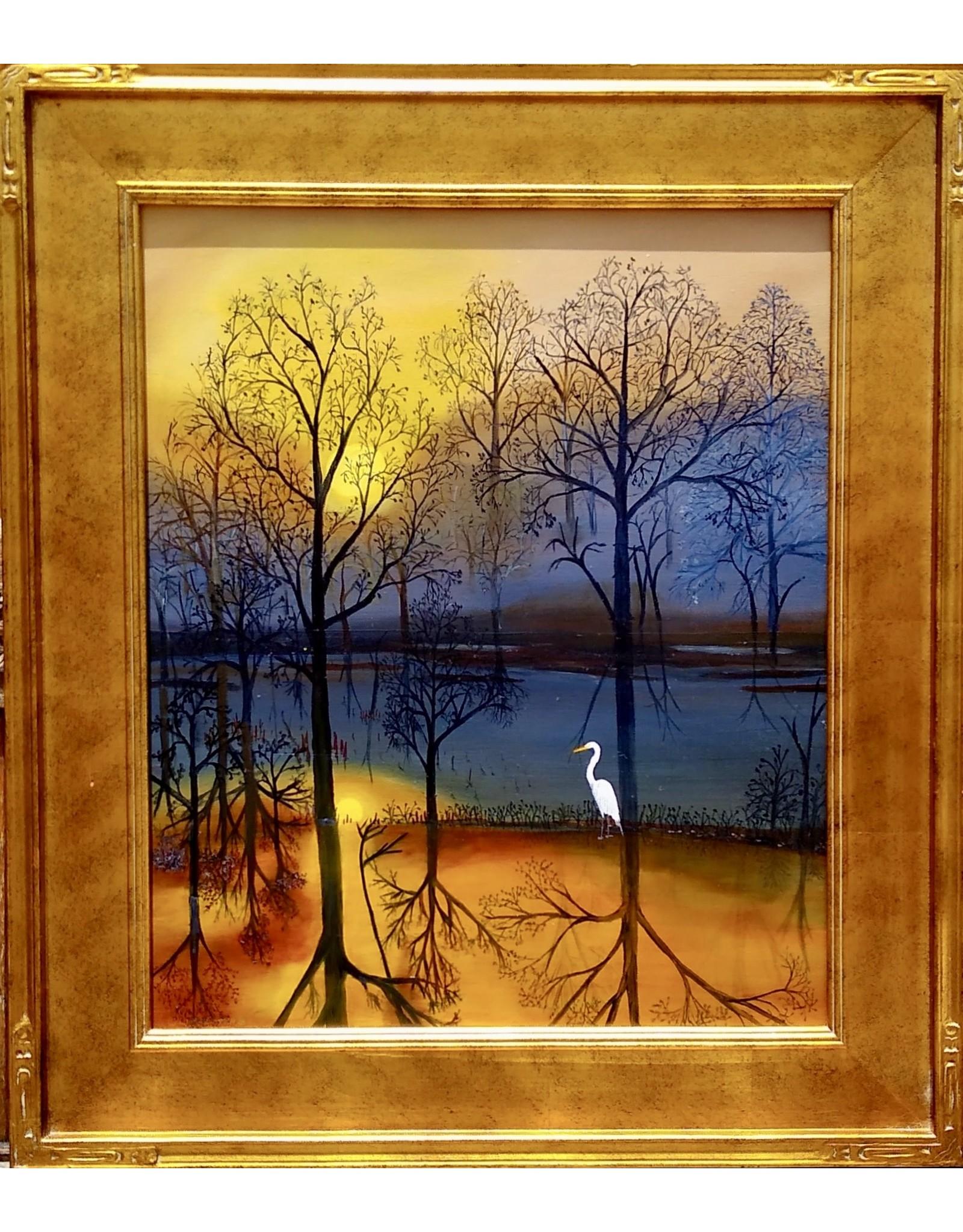 Cliff Potenza Good Morning Sunsnhine (Original Oil, 20x24)