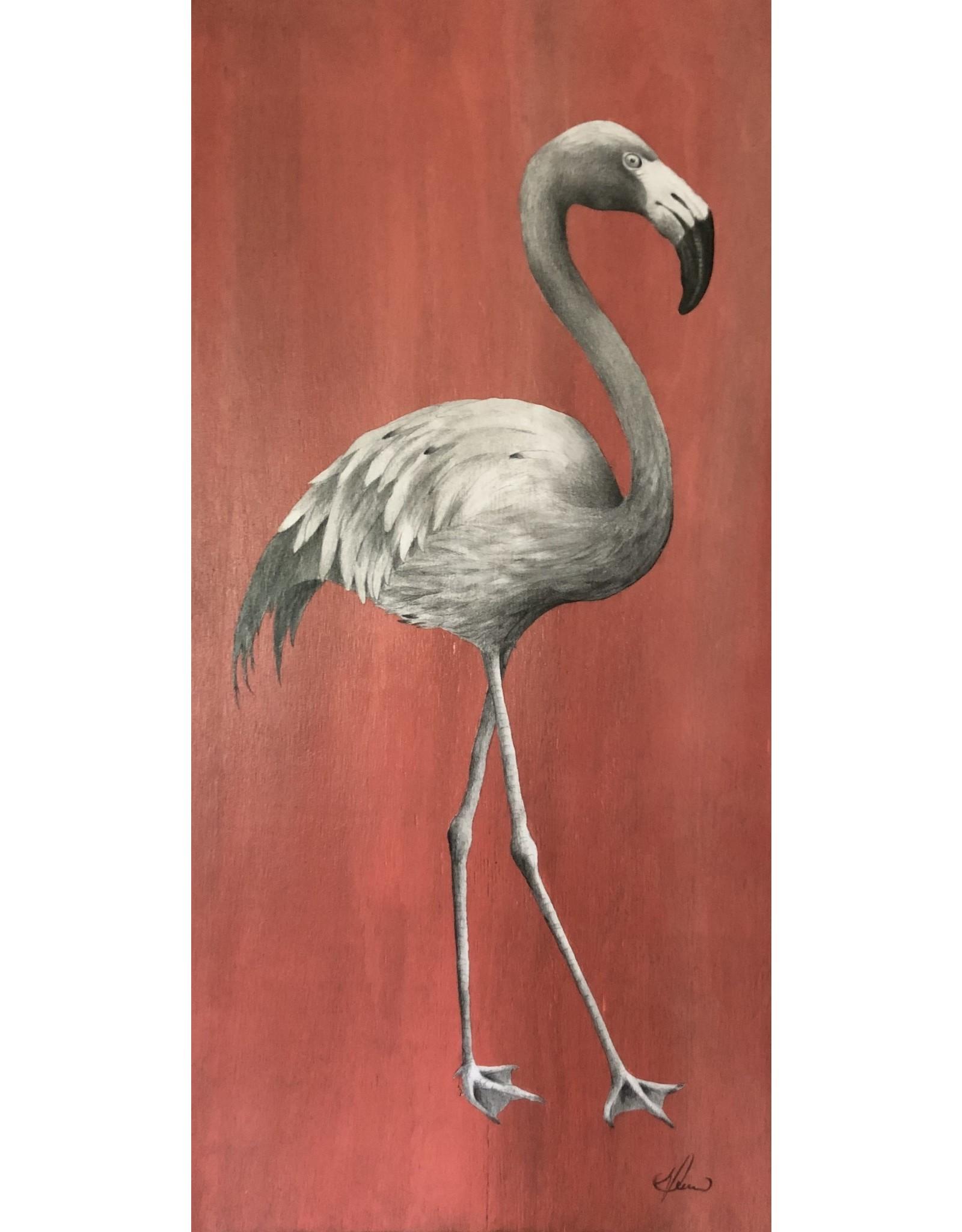 "Molly Pearce Flamingo (14x24"" MOLP)"