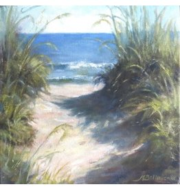 Michaelann Bellerjeau A Good Day Ahead (oil on canvas, gallery wrap, 12x12) MICB