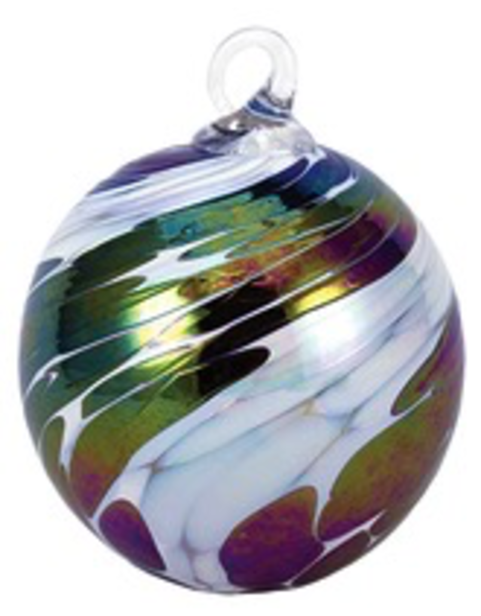 "Glass Eye Studio ORNAMENT (CLASSIC ROUND, 3""D., GLAS)"