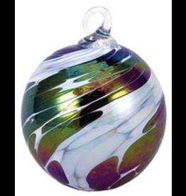 "Glass Eye Studio ORNAMENT (CLASSIC ROUND, 3""D., GLAS)"