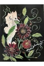 "Marcia Durham SEA STARS (Original Acrylic, 11x14""  MARD)"