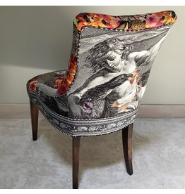 C. Darden Designs High back side chair w/Timney Fowler designer panel) CDAR