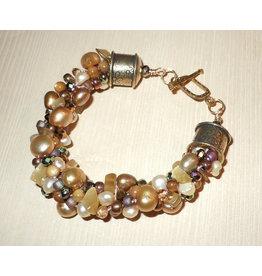 Susan Estrella Golden Glam, Kumihimo, bracelet, SUSE