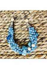Susan Estrella Love Those Blues, Kumihimo, bracelet, SUSE
