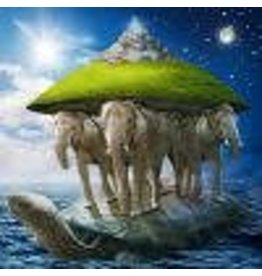 Zen Art & Design PEAPOD, World Turtle, 25 pieces, ZEN