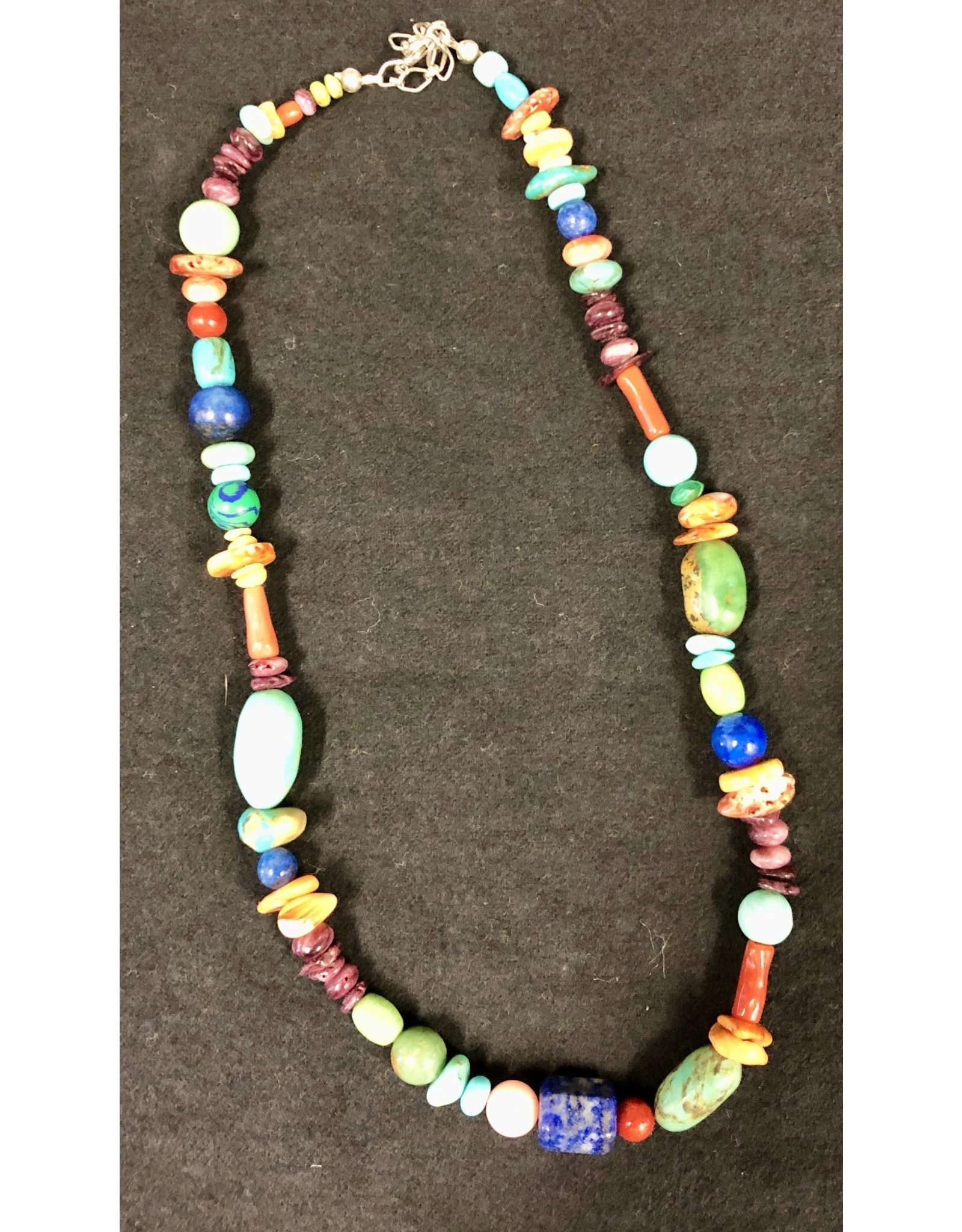 Rare Finds BEADED NECKLACE, Native American Artist Design, single strand, RARE