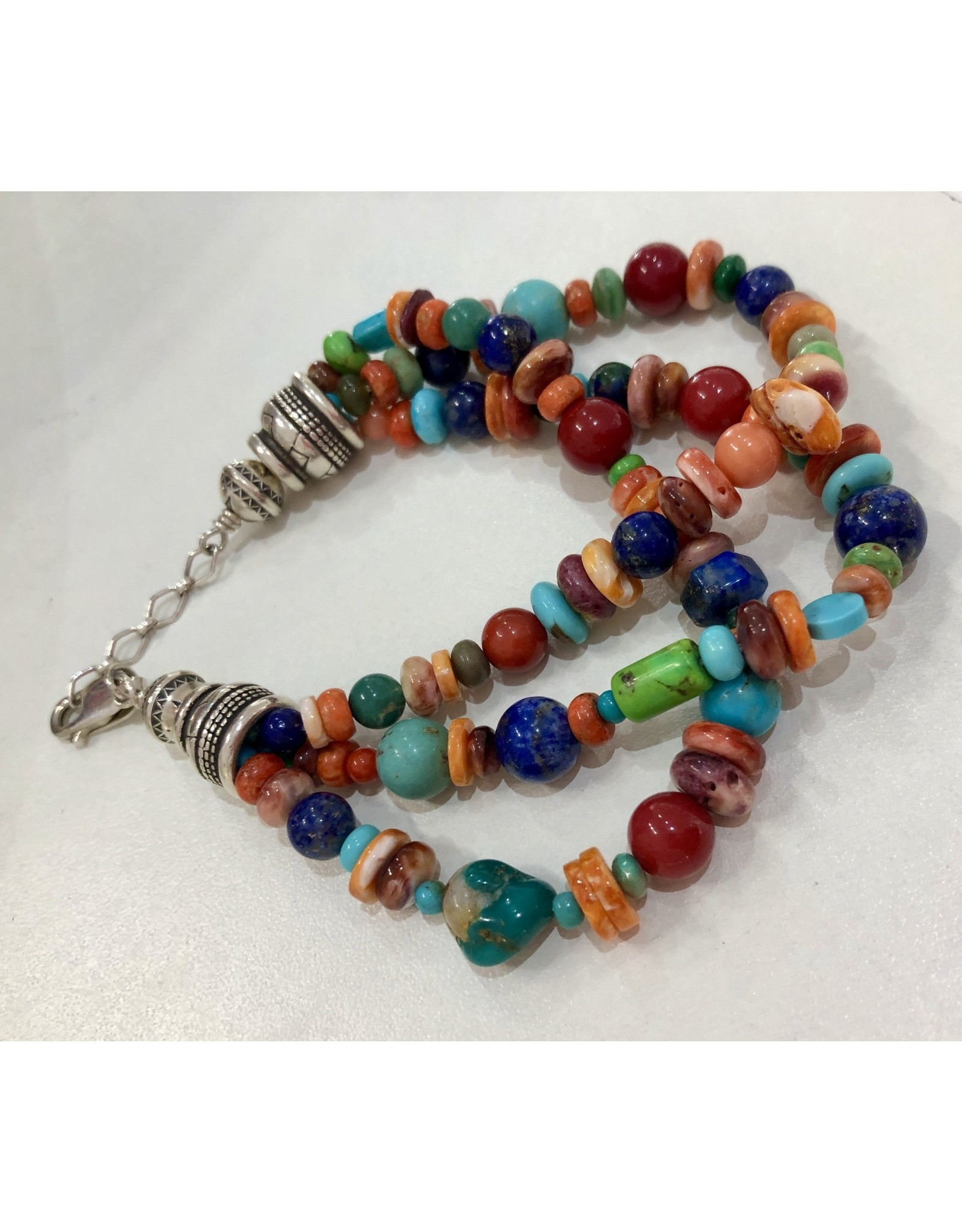 Rare Finds BRACELET, Native American Artist Design, triple strand,
