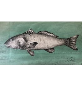 "Molly Pearce Redfish (8x11"" MOLP)"