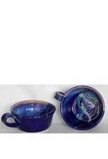 """Larrabee Ceramics SOUP BOWL w/handle, 6"""" LARR"""