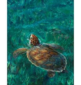 "Susan Roberts HEAD'S UP (Giclee, Ltd. Ed, Gallery Wrap, 11x14"", SUSR)"