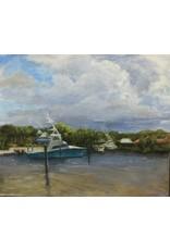 Michaelann Bellerjeau STORM'S HEADED IN, plein air, 10 x12, MICB)