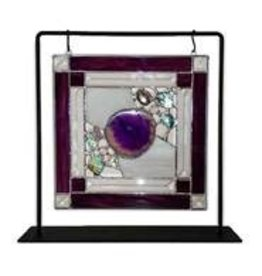 "My Wildest Dreams Studio Nature's Glory panel (Agate Purple  10x10"" w/hanging frame)CHIR"