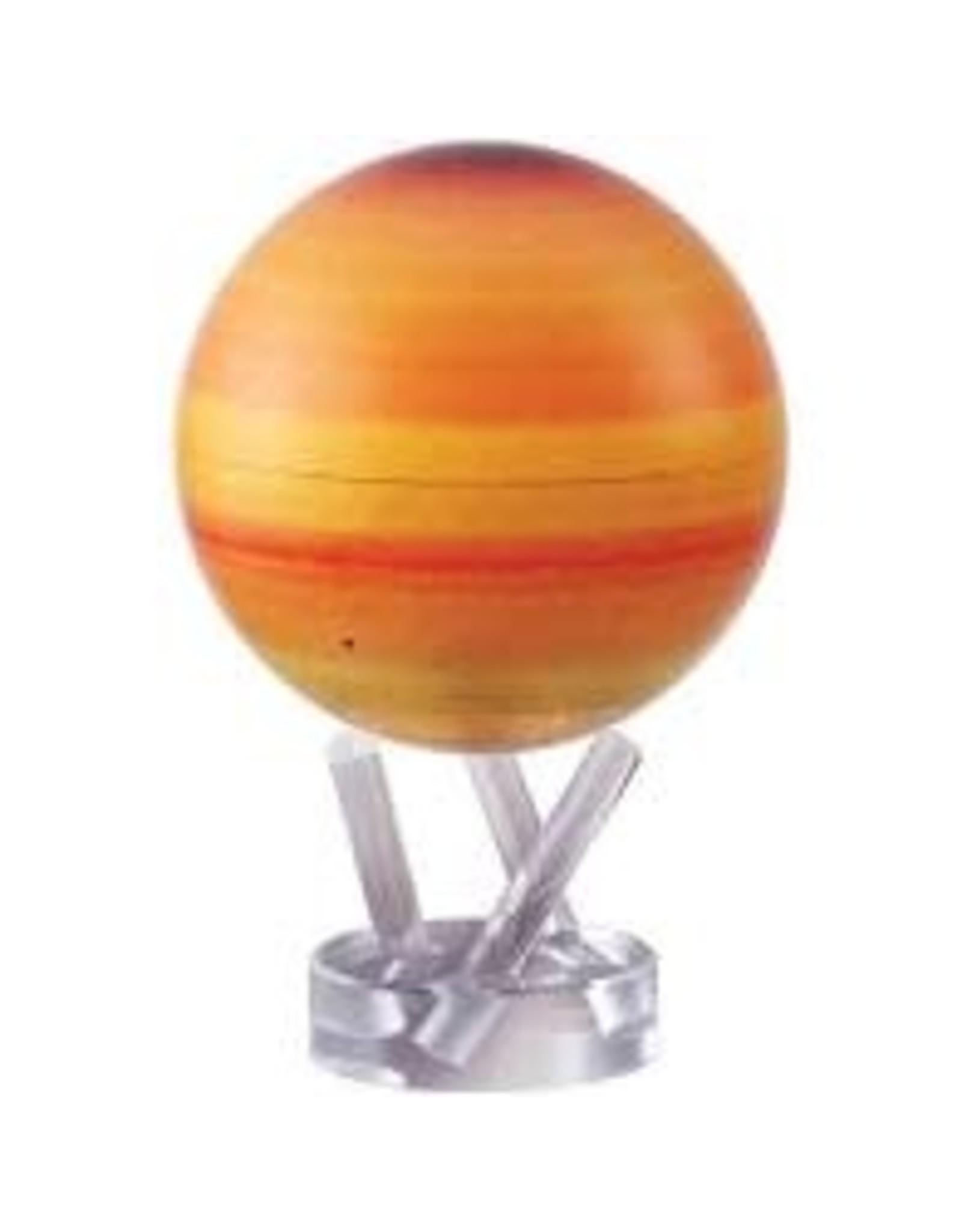 "Mova Globes SATURN (MOVA Globe 4.5"" w/Acrylic Base)"