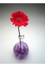 """Henrietta Glass CIRCLE OF FRIENDS VASE, blown glass (3"""") HENG"""