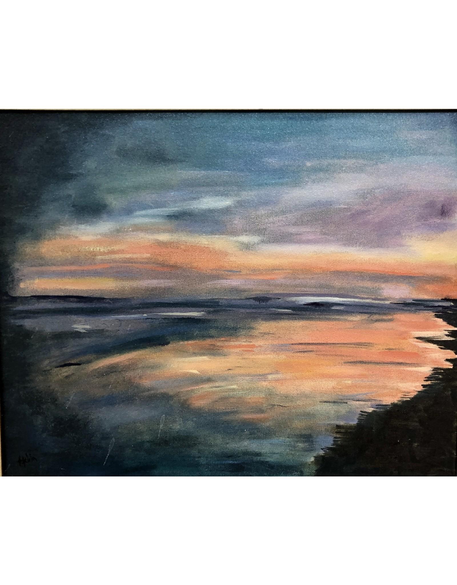 """Teresa Kay Portal, oil on canvas, framed, 20x24"""", TERK"""