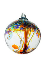 "Kitras Art Glass HAPPINESS (Trees of Enchantment, 2"" D., KITRAS)"
