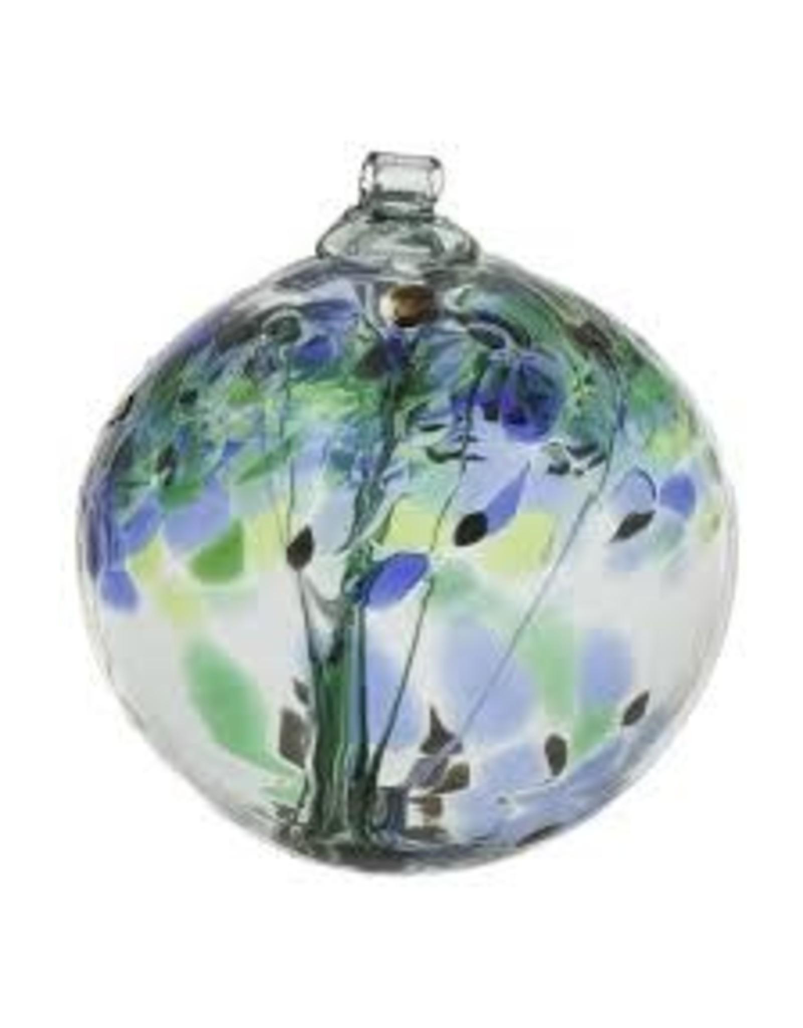 "Kitras Art Glass ENCOURAGEMENT (Trees of Enchantment, 2"" D., KITRAS)"
