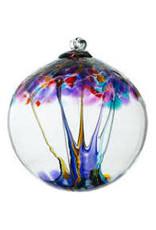 """Kitras Art Glass CREATIVITY (Trees of Enchantment, 2"""" D., KITRAS)"""