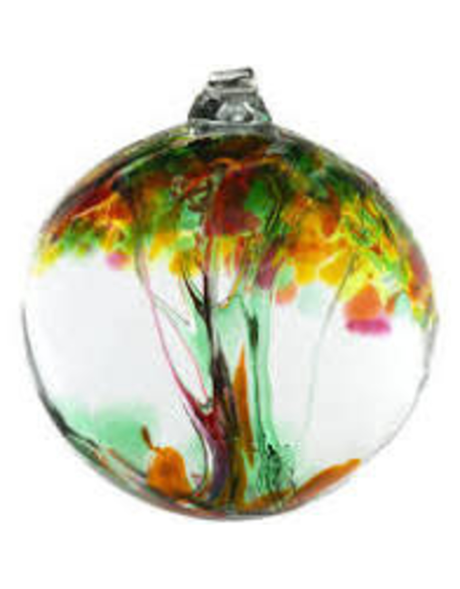 "Kitras Art Glass HEALING (Trees of Enchantment, 6"" D., KITRAS)"