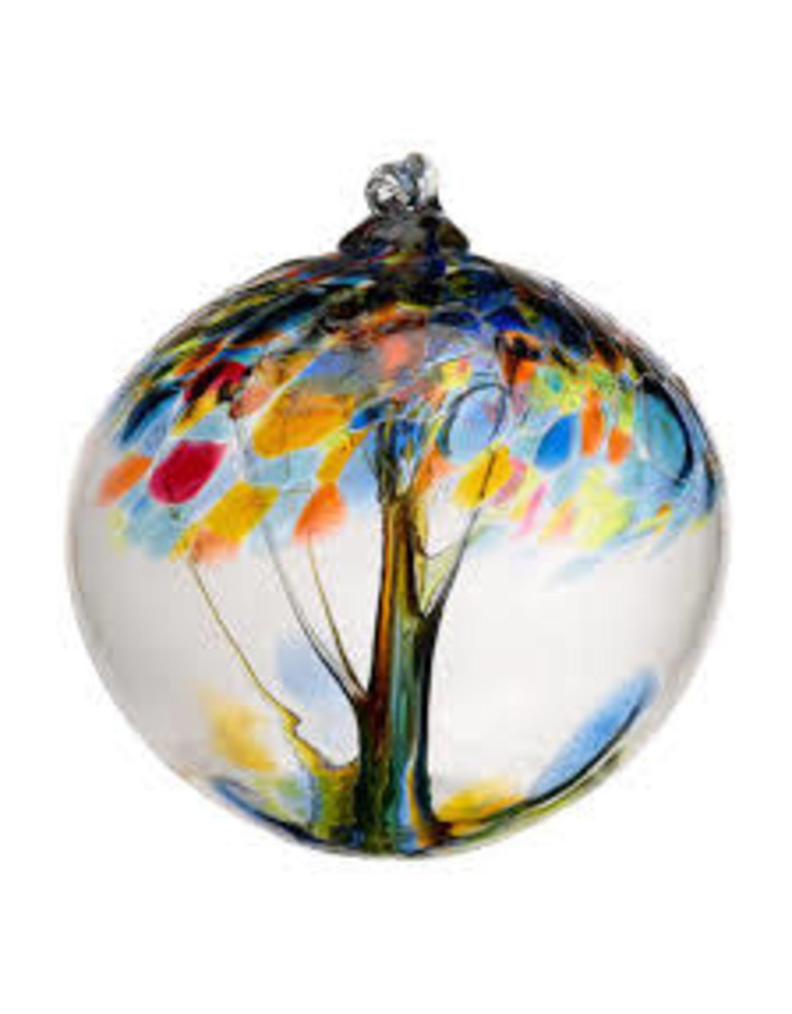 "Kitras Art Glass HOPE (Trees of Enchantment, 6"" D., KITRAS)"