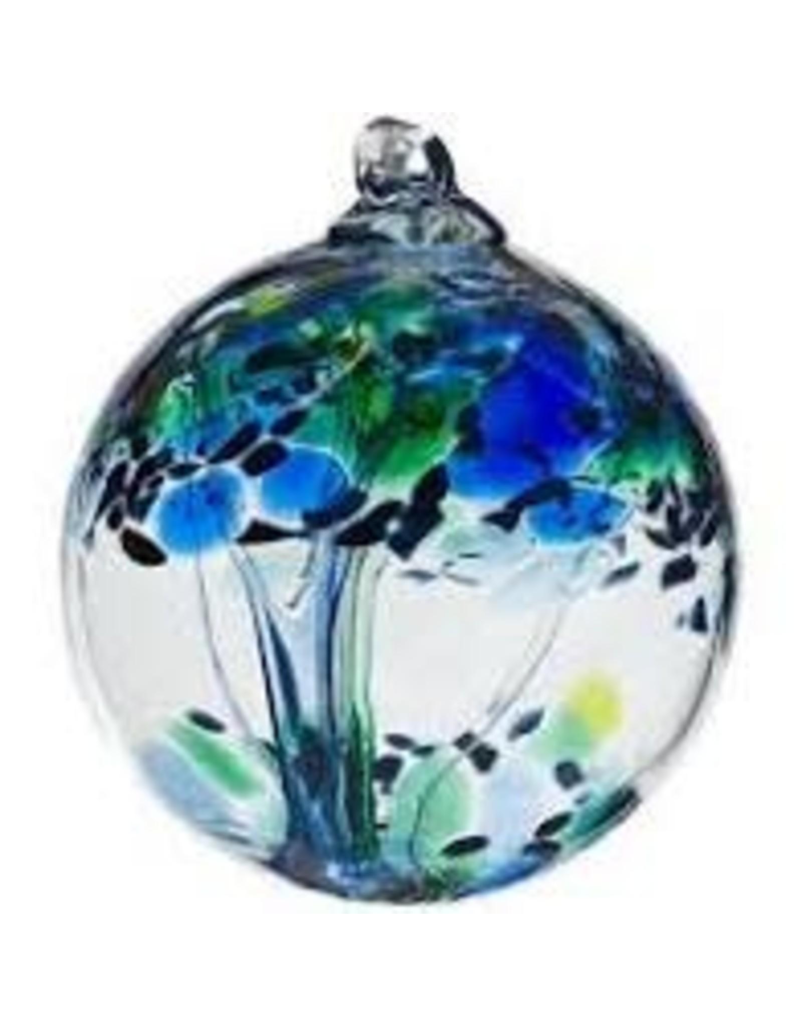 "Kitras Art Glass KINDNESS (Trees of Enchantment, 6"" D., KITRAS)"