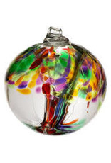 "Kitras Art Glass LIFE (Trees of Enchantment, 2"" D., KITRAS)"