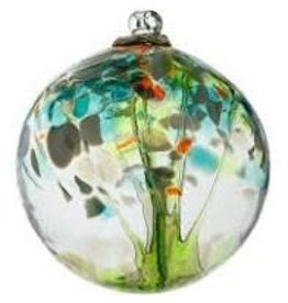 "Kitras Art Glass REBIRTH (Trees of Enchantment, 6"" D., KITRAS)"