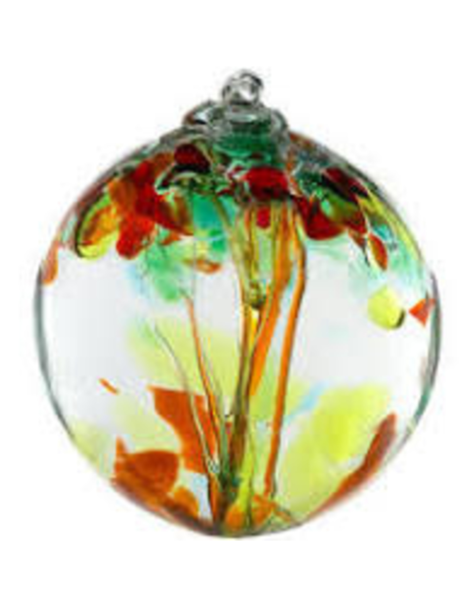 "Kitras Art Glass SISTERS (Trees of Enchantment, 2"" D., KITRAS)"