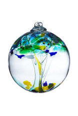 "Kitras Art Glass UNITY (Trees of Enchantment, 6"" D., KITRAS)"