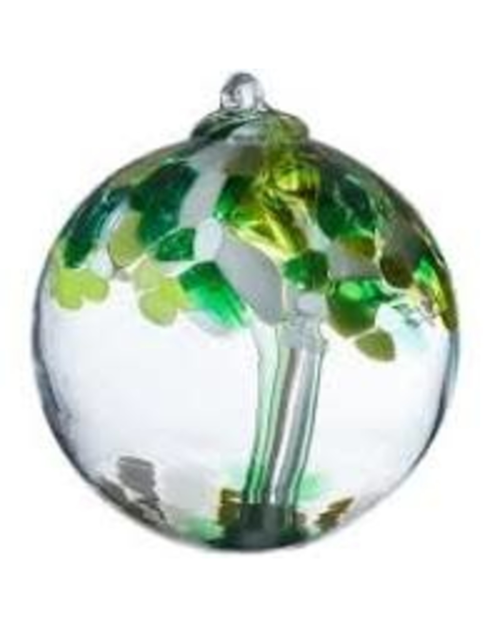 """Kitras Art Glass WELL BEING (Trees of Enchantment, 2"""" D., KITRAS)"""