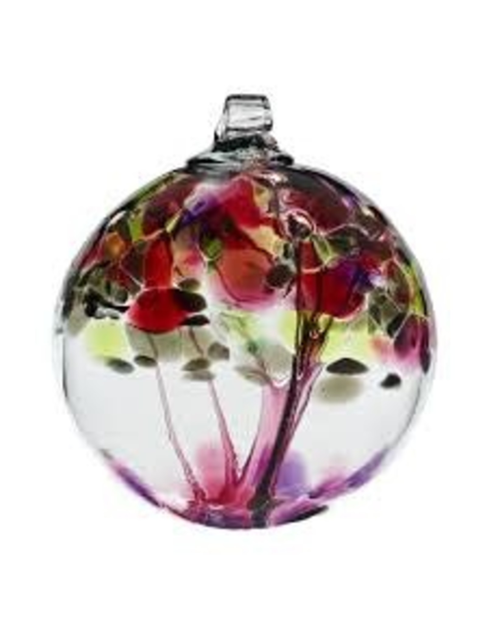 """Kitras Art Glass WISHES (Trees of Enchantment, 2"""" D., KITRAS)"""